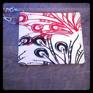 amani peace Bags - Red white blue and brown purse